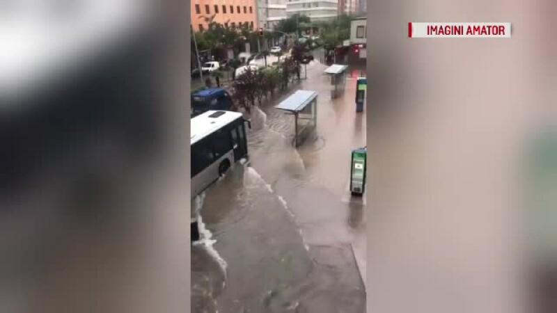 orasul Castellon inundat
