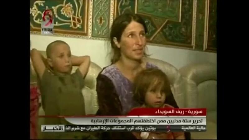 6 ostatici, eliberaţi de ISIS după 3 luni.