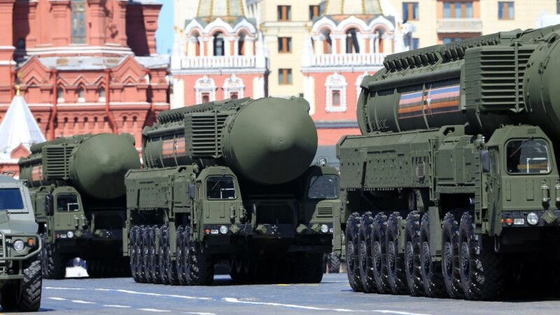 rachete parada de Ziua Victoriei la Kremlin