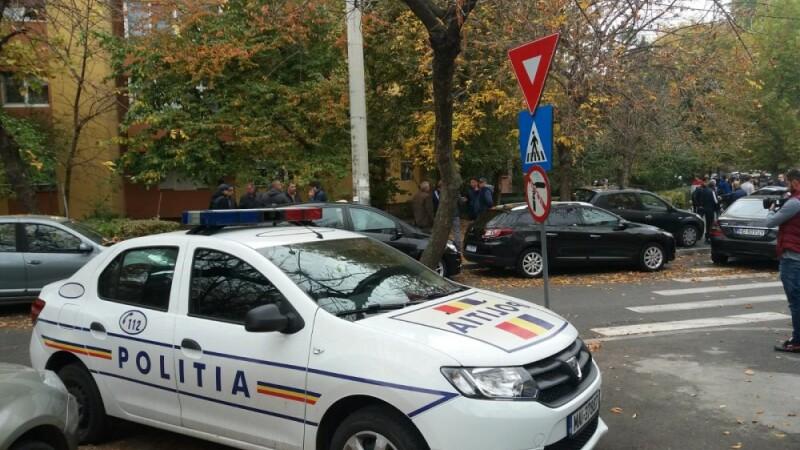 politie la domiciliul lui Ilie Balaci