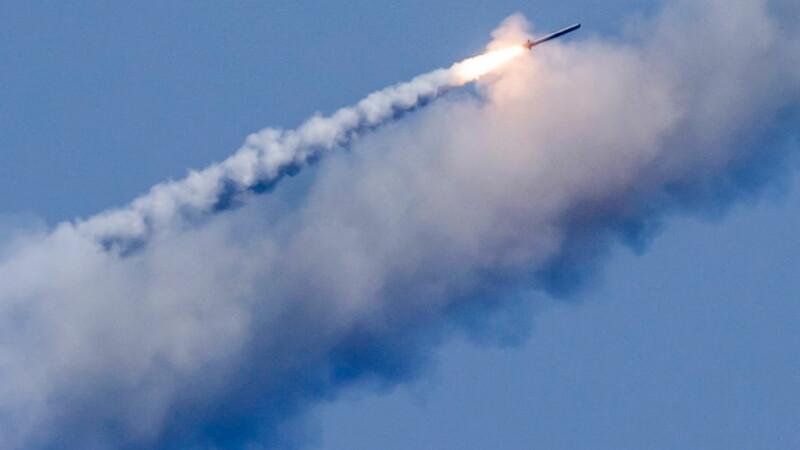 racheta Kalibr lansata de un submarina rusesc