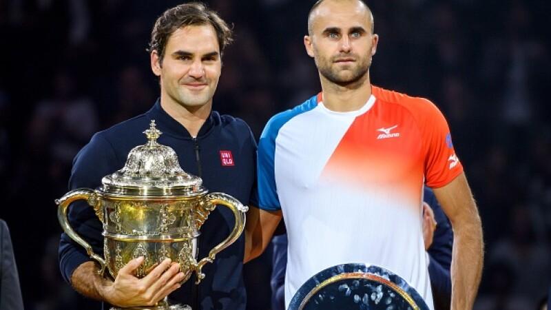 Marius Copil, Roger Federer