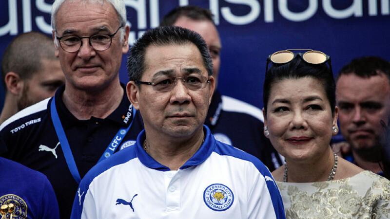 patron Leicester City, elicopter, Vichai Srivaddhanaprabha, a murit