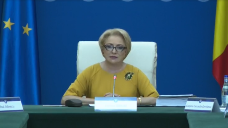 Discursuri copy-paste susținute de Viorica Dăncilă la o zi distanță. VIDEO