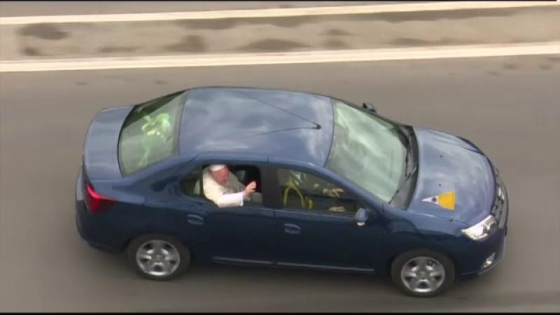 masina folosita de Papa Francisc