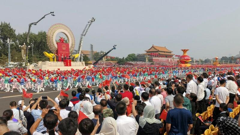 Paradă militară la Beijing: 70 de ani de la proclamarea regimului comunist