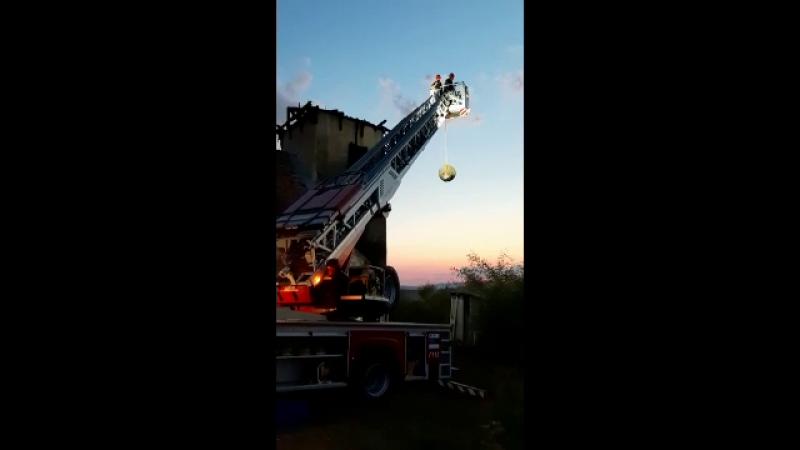 incendiu biserica