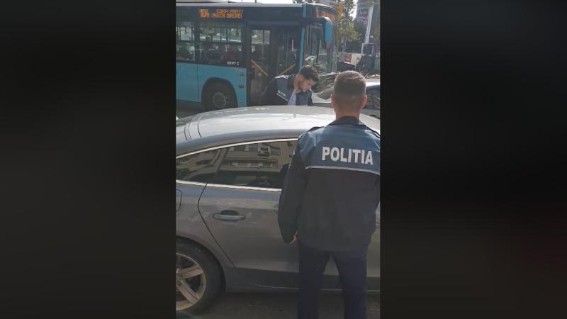 polițiști bucuresti trecere pietoni