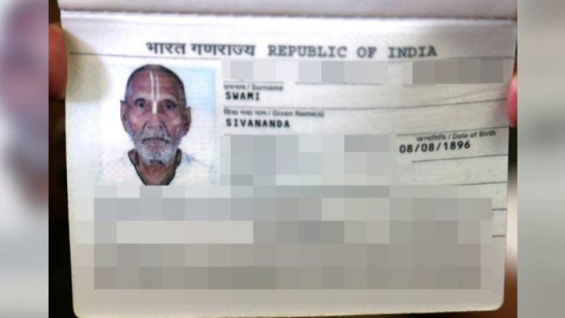 Adevărata poveste a indianului născut care are 123 de ani. Ce scrie pe pașaportul său