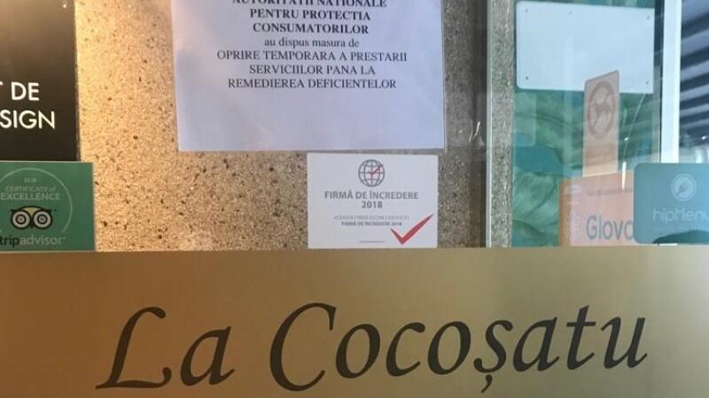 Restaurante cunoscute din București, închise de ANPC. Ce au găsit inspectorii