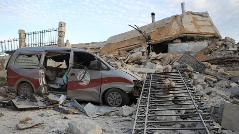 Kafr Nabl spital siria