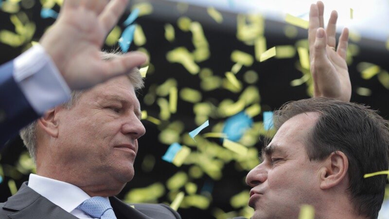 Klaus Iohannis si Ludovic Orban