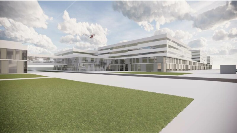 Cum va arăta Spitalul Regional de Urgență Craiova. A primit avizul tehnico-economic