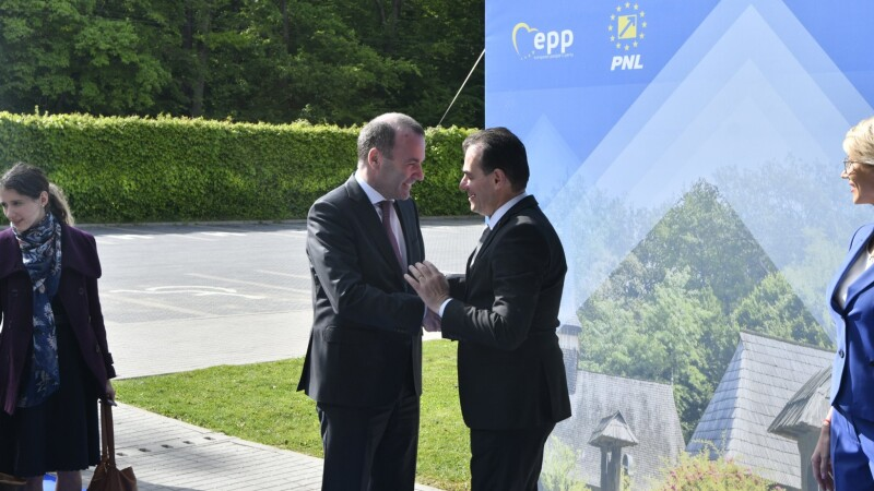 Manfred Weber și Ludovic Orban