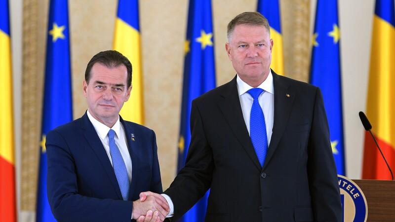 Klaus Iohannis l-a desemnat pe Ludovic Orban pentru funcția de premier