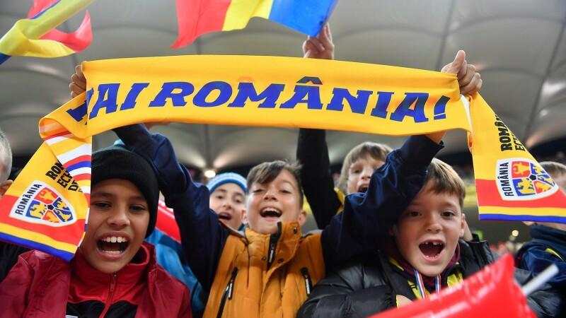 30.000 de copii au asistat la meciul România - Norvegia - 4