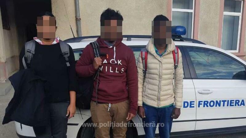 Trei migranți, prinşi la frontiera din Satu Mare. Ce plănuiau să facă în România