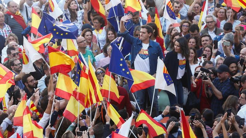 Manifestații la Barcelona împotriva Independenței Cataloniei - 5