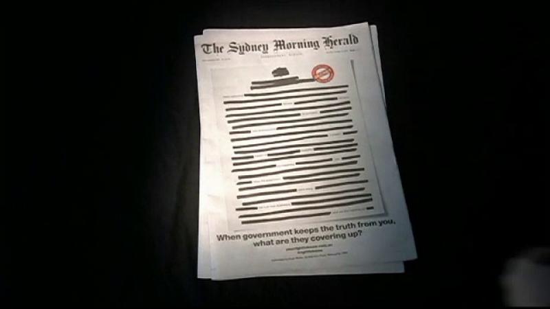 Protest inedit în Australia. Mai multe ziare rivale apar cu prima pagină cenzurată