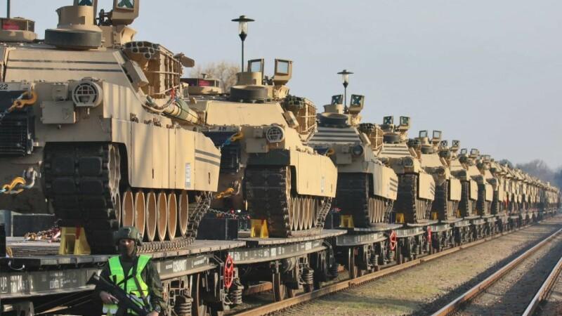Trupe americane mobilizate în Lituania - 12