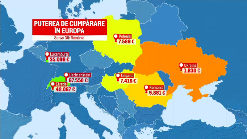Harta Sărăciei Din Romania Bucurestenii Singurii Care Pot