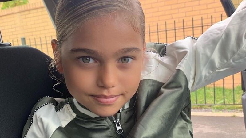 """Cum arată noua """"cea mai frumoasă fetiță din lume"""". Visează să devină fotbalistă - 4"""