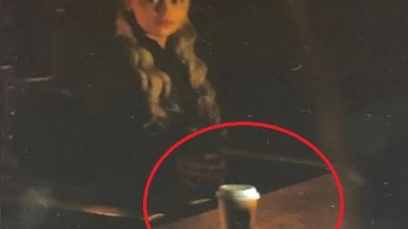 Emilia Clarke a dezvăluit cine a uitat paharul cu cafea care a apărut în Game of Thrones