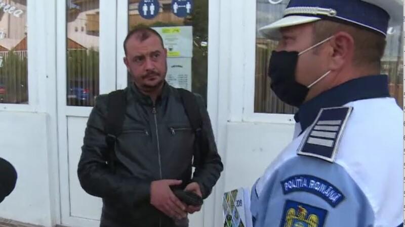 Explicaţiile celor prinşi de poliţie fără mască. \