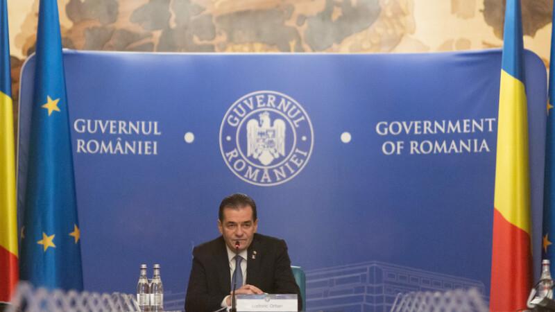 Întâlnire între premierul Ludovic Orban, ministrul Nelu Tătaru și Raed Arafat, de la ora 16.00, la Palatul Victoria