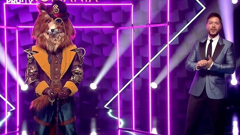 Masked Singer Romania, semifinala. Costi Ioniță se ascundea sub masca Vulpoiului