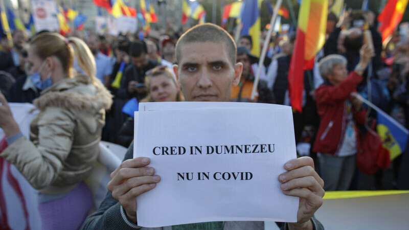 Proteste antiCovid Bucuresti - 5
