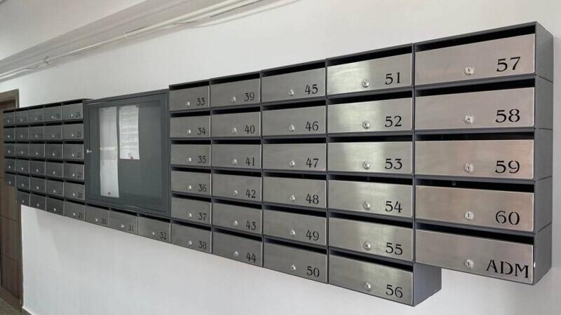 cutii postale, bloc, eurometal box