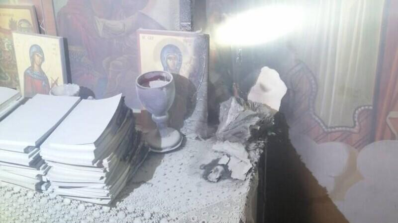"""Incendiu la capela Maternității """"Elena Doamna"""" din Iași. Icoanele nu au fost atinse de flăcări"""