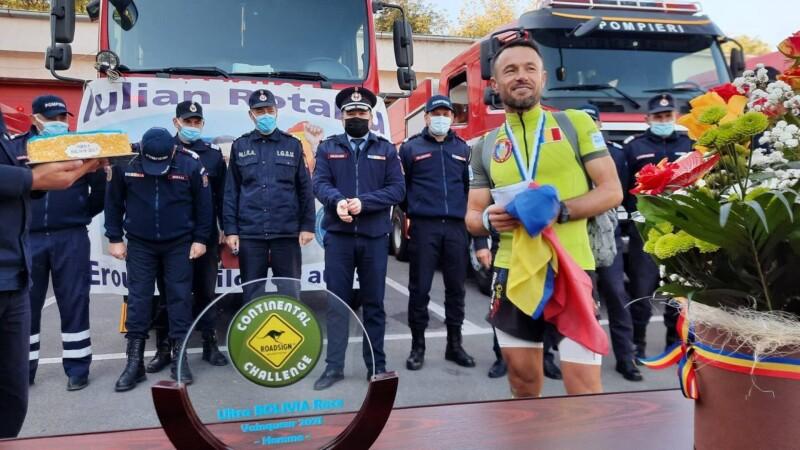Povestea uluitoare a pompierului din Botoșani care a câștigat ultramaratonul din Anzi. A alergat flămând și cu hernie