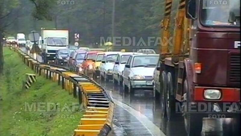 Trafic aglomerat pe DN1