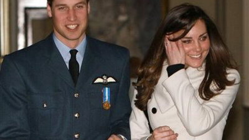 Kate Middleton si Printul William
