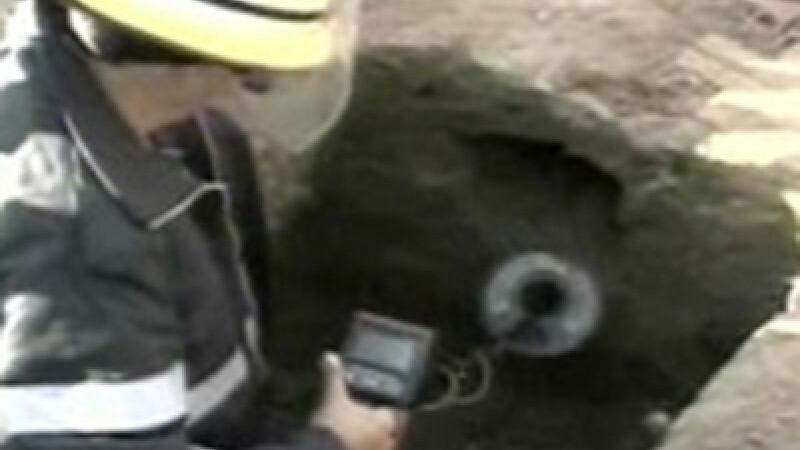 Munitie de razboi descoperita in curtea unui dambovitean