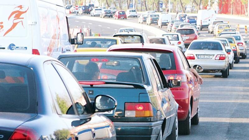 Trafic blocat in Capitala