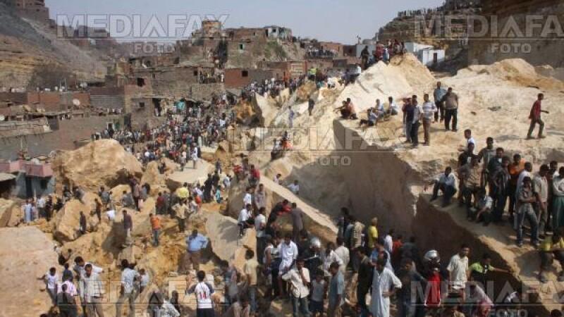 Aproape 50 de morti la Cairo, dupa prabusirea unor blocuri de piatra