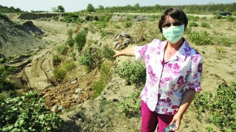 Stop Protan! Protest pentru un aer mai curat in fata Ministerului Mediului