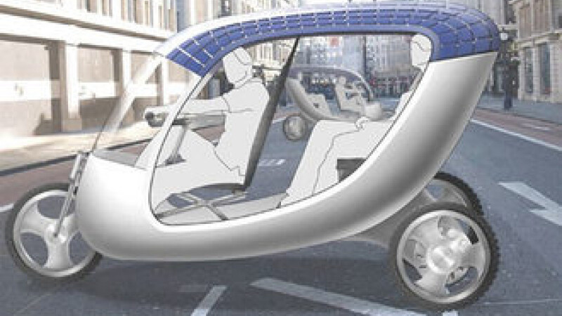 Primul taxi solar a ajuns la New York