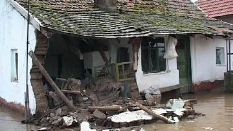 Casa daramata de inundatii