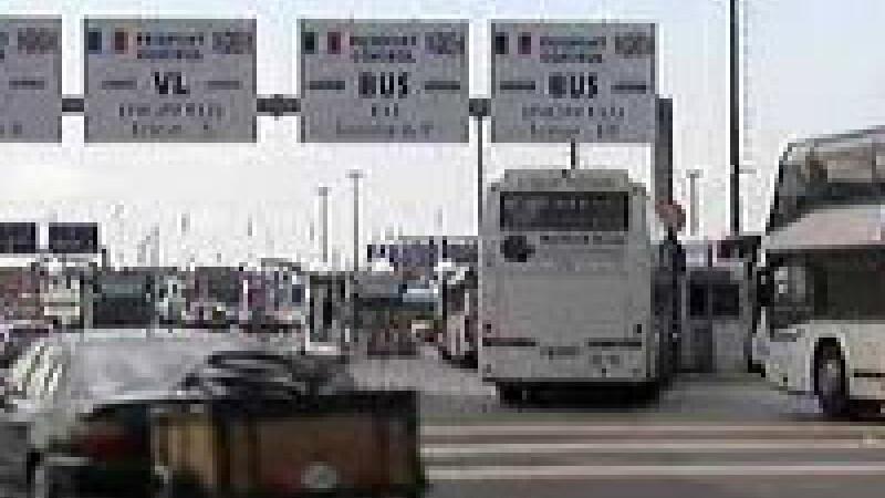 Circulatie reluata in Eurotunel
