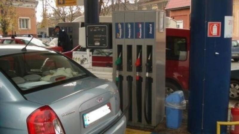 Masini in benzinarie