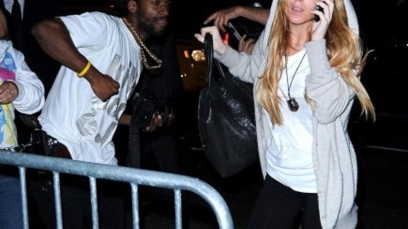 Lindsay Lohan si fotograful buclucas