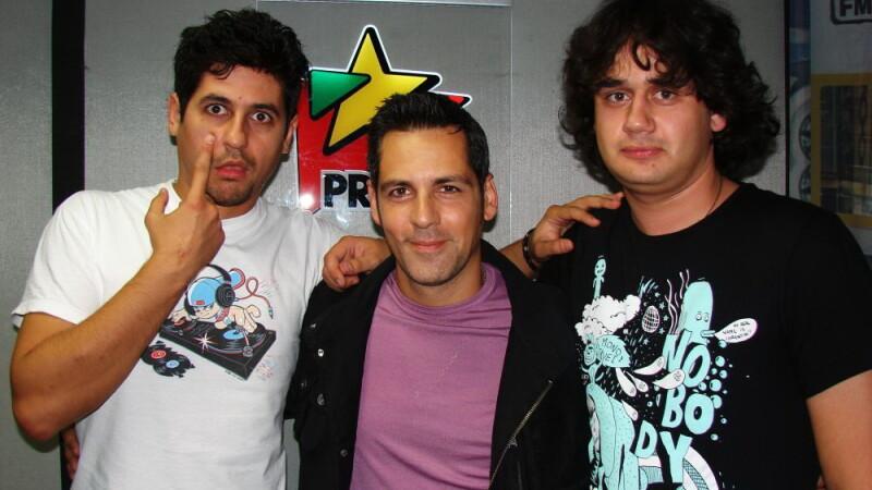 DJ Escu, Stefan Banica Jr. si Bogdan Nicolai