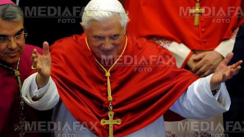 Papa Benedict al XVI-lea, cel mai influent om politic european