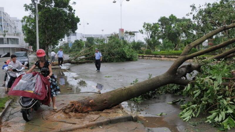 Taiwan: taifunul Hagupit a ucis 25 de oameni