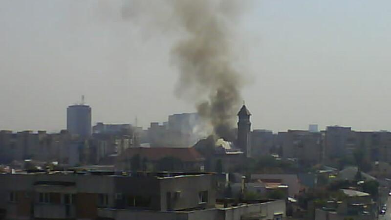 incendiu Primarie
