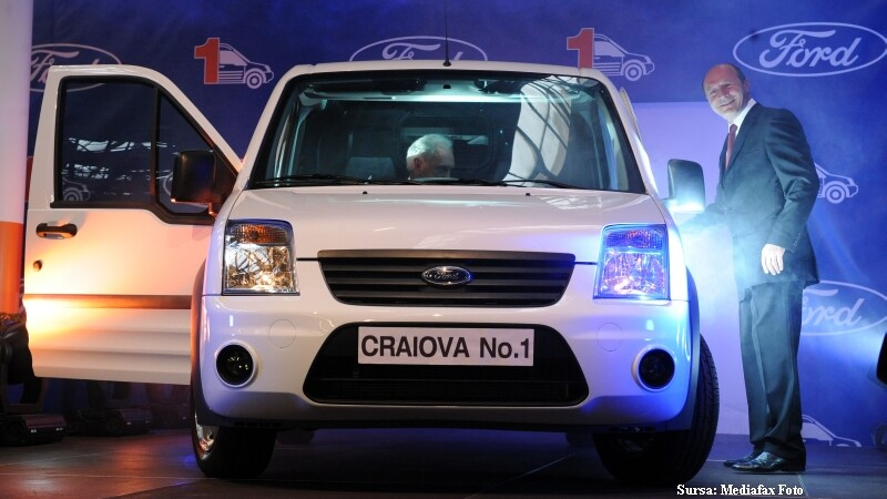 Ford mimeaza productia. 3.900 de oameni fac 3 masini pe zi la Craiova